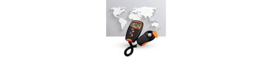 Измерители параметров освещенности