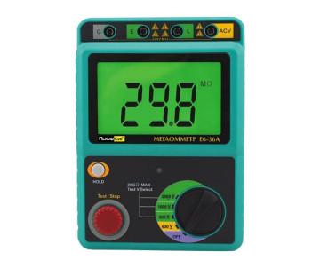 ПрофКиП Е6-36А мегаомметр (500 В … 2500 В)