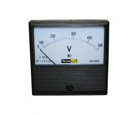 ПрофКиП Э80В вольтметр щитовой переменного тока 0-7.5кВ 6000/100В