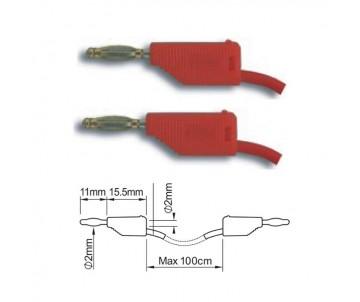 ПрофКиП PTL902-1 составные измерительные провода 2 мм Male-Male