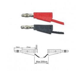 ПрофКиП PTL908-8 измерительные провода 4 мм Male-Male
